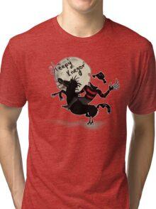 sleepy Krueger Tri-blend T-Shirt