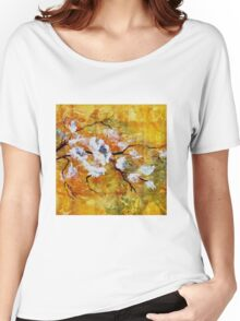 Blossoms on A Branch Women's Relaxed Fit T-Shirt
