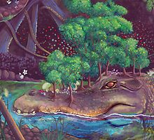 Alligator Island by Lauren Rakes
