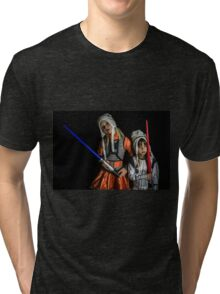 Move Over Rey Tri-blend T-Shirt