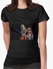 Move Over Rey Womens Fitted T-Shirt