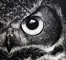Owl Eye by Lauren Rakes