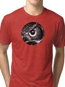 Owl Eye Tri-blend T-Shirt