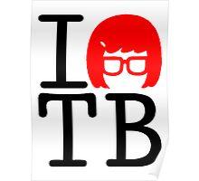 I Love Tina Poster