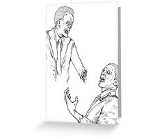 Politicians Are Zombies  Greeting Card