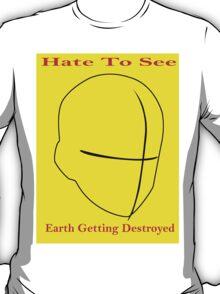 Men's earth T-Shirt T-Shirt