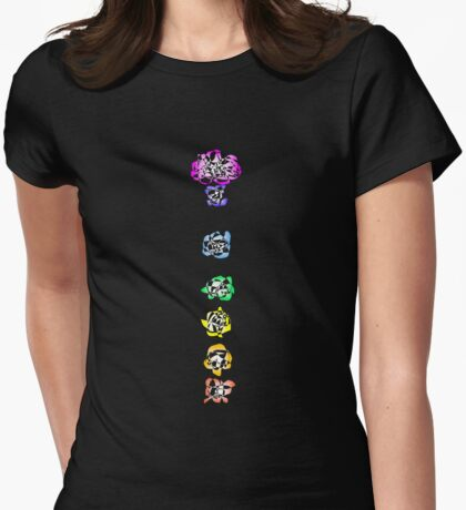 Chakra Flowers (2008) Womens Fitted T-Shirt