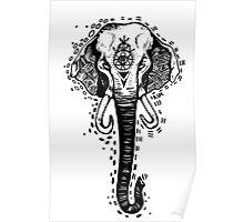 Raskha's Elephant  Poster