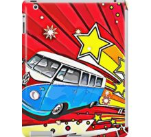 Starburst Split screen Cartoon iPad Case/Skin