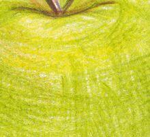 green apple Sticker