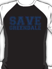 Save Greendale (Distressed) T-Shirt