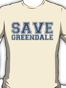 Save Greendale (Distressed) T-Shirt