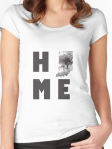 """Indiana """"HOME"""" Women's Fitted Scoop T-Shirt"""