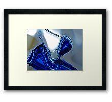 liquid glass 2 Framed Print