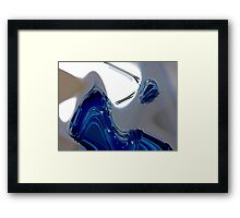liquid glass 3 Framed Print