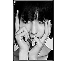 Mood in Black and white. Photographic Print