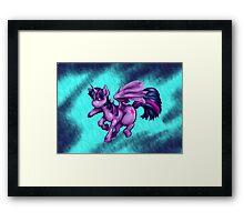 twilight pony Framed Print