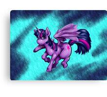 twilight pony Canvas Print