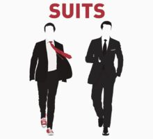 Suits - Minimalistic Print by CongressTart