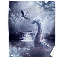 Ice Dragons Poster