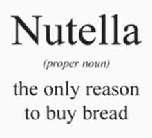 Nutella Definition by zygoishere