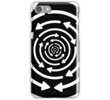 Any Which Way But Out - White iPhone Case/Skin