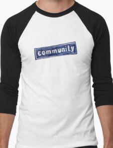 Community Logo Men's Baseball ¾ T-Shirt