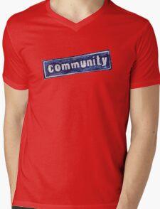 Community Logo Mens V-Neck T-Shirt