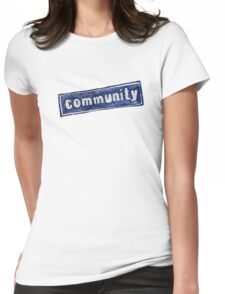 Community Logo Womens Fitted T-Shirt