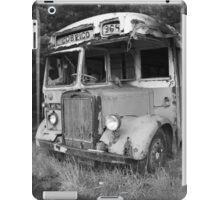 Abandoned bus iPad Case/Skin