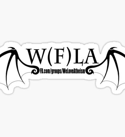 W(F)LA Wings  Sticker