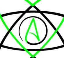 We (Fucking) Love Atheism  Sticker