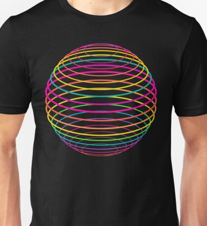 Neon Strings of the Globe T-Shirt