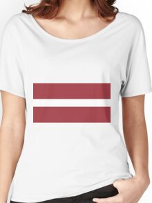 Latvia Women's Relaxed Fit T-Shirt