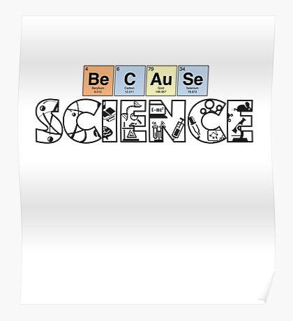 periodically nerdy. Poster
