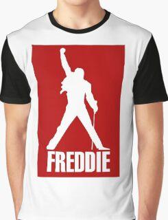 Freddie Mercury Queen's Singer Silhouette Graphic T-Shirt