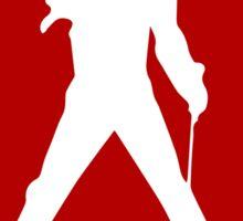Freddie Mercury Queen's Singer Silhouette Sticker