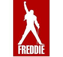 Freddie Mercury Queen's Singer Silhouette Photographic Print