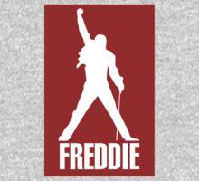 Freddie Mercury Queen's Singer Silhouette One Piece - Long Sleeve