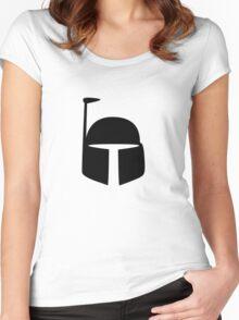 Boba Fett - Black Women's Fitted Scoop T-Shirt