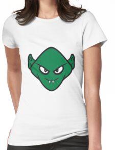 Evil halloween Monster vampire horror Womens Fitted T-Shirt