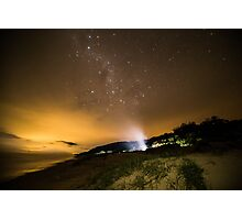 Milky Way Camping Photographic Print