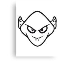 Evil halloween Monster vampire horror Canvas Print