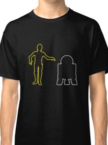 C-3PO And R2-D2 Classic T-Shirt