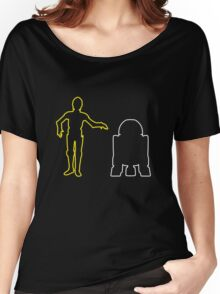 C-3PO And R2-D2 Women's Relaxed Fit T-Shirt