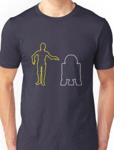 C-3PO And R2-D2 Unisex T-Shirt
