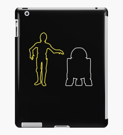 C-3PO And R2-D2 iPad Case/Skin