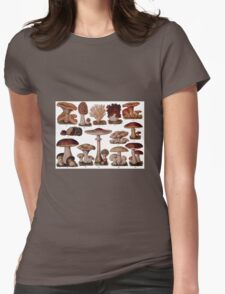 Edible Funghi (1893) Womens Fitted T-Shirt