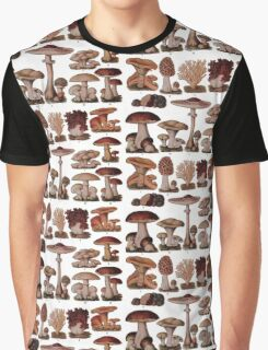 Edible Funghi (1893) Graphic T-Shirt