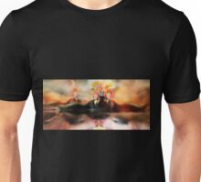 Reflective Recline [Digital Figure Illustration] Unisex T-Shirt
